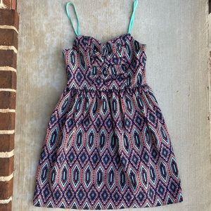 Fun Summer Print Dress